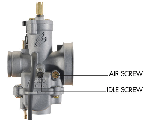 CP carburetor instructions - Polini Motori