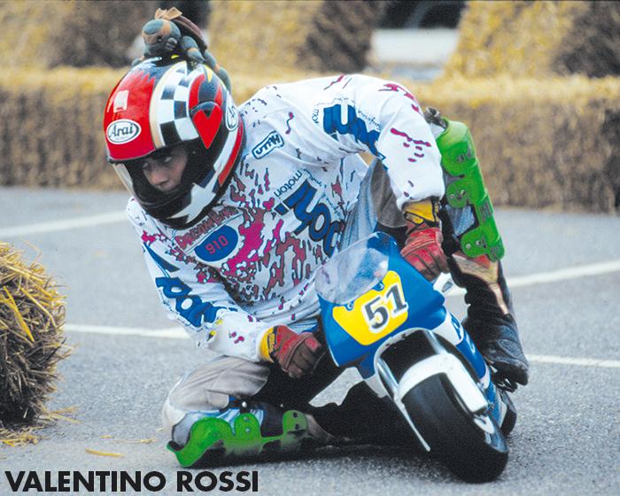 minibike - Valentino Rossi