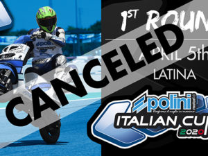 POLINI ITALIAN CUP 2020: First round cancelled