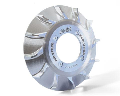 Ventola CNC per Vespa - Polini CNC fan for Vespa - ventilateur CNC Polini pour Vespa - ventilador CNC Polini para Vespa