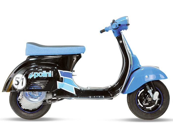 KIT FRIZIONE POLINI con MOLLA WAVE - POLINI CLUTCH KIT with WAVE SPRING - KIT EMBRAYAGE POLINI avec RESSORT WAVE - KIT EMBRAGUE POLINI con MUELLE WAVE - vespa - vespa tuning - moped - scooter - vintage - 2 stroke - 2 tempi - tuning - Polini