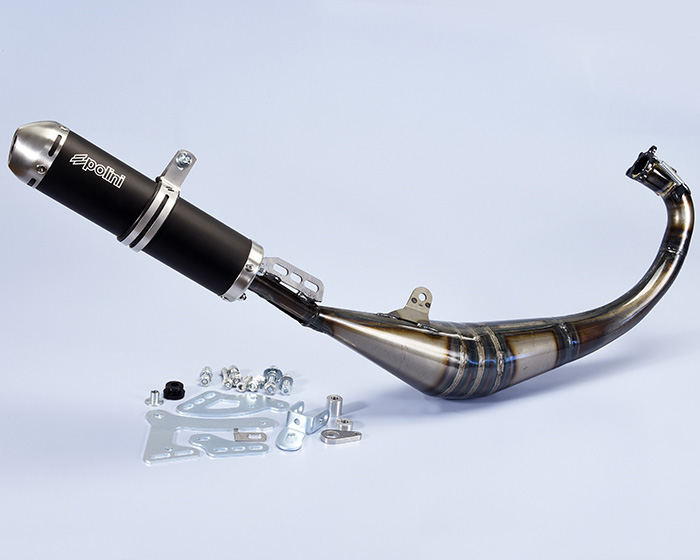 Polini Big Evolution Minarelli HM Vent marmitta - Muffler - Pot d'échappement - Silenciador