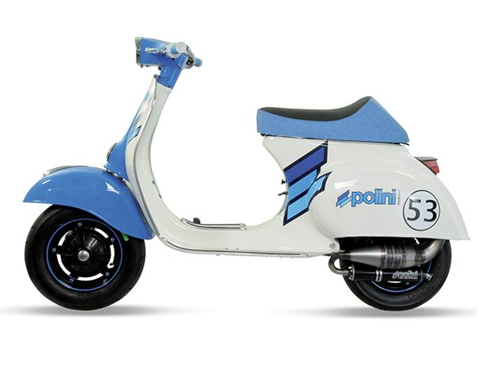 vespa polini scooter mopeds vintage moto epoca retrò tuning scootertuning mopedtuning vespatuning - vespa bianca - white vespa