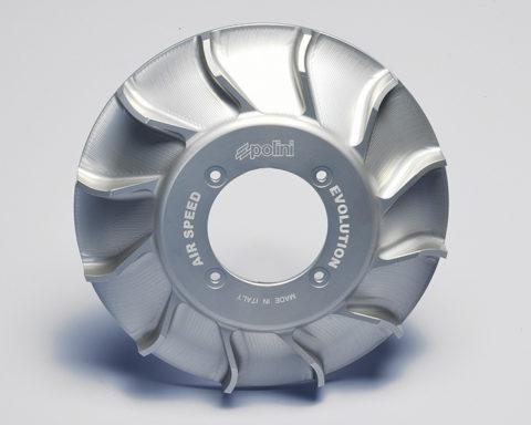 Ventola CNC Polini per Vespa PX-PE - Polini CNC fan for Vespa PX-PE - ventilateur CNC Polini pour Vespa PX-PE - ventilador CNC Polini para Vespa PX-PE