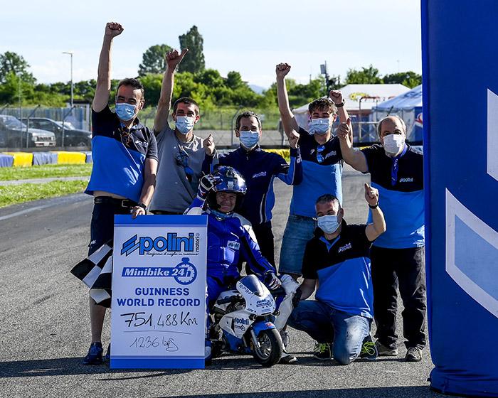 24H MINIBIKE POLINI - Polini Minibike 24h - pocket bike - minimoto - track - rider - motorsport - team - race team - paddock - guinness world record